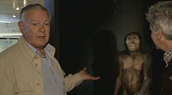 Johanson se encuentra con 'Lucy', el australhopitecus que descubrió hace 40 años
