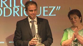 ��igo Dom�nguez gana el XXXI Premio de Periodismo Cirilo Rodr�guez