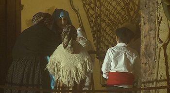 M�s de un centenar de vecinos participan en el Belen Viviente de Cabez�n de Pisuerga