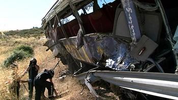 Tres años y dos meses de cárcel al conductor del autobús del accidente de Tornadizos