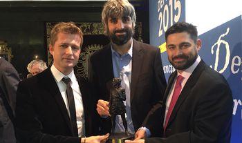 Los autores del reportaje 'En un lugar del Líbano' reciben el Premio Defensa 2015