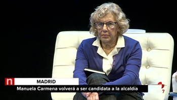 Carmena se presentará de nuevo a la Alcaldía de Madrid