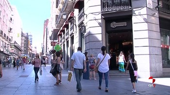 El gasto de los españoles creció un nueve por ciento en el último año