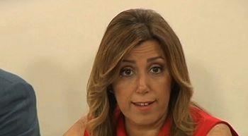 Susana D�az comunica a IU el adelanto electoral en Andaluc�a