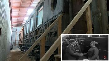 La historia del vagón que transportó a Franco hasta Hendaya para entrevistarse con Hitler