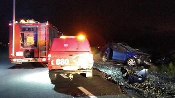 Muere un joven y dos personas resultan heridas en un accidente en la N-110, en Ávila