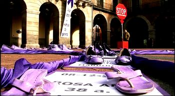 Numerosos actos conmemoran en Castilla y Le�n el D�a contra la Violencia sobre la Mujer