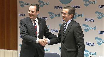 Iberaval y BBVA facilitan cr�ditos de hasta 600.000 euros a las pymes para inversi�n