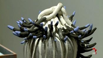 Gabarrón expone 'De lo orgánico a lo metafísico' una muestra inédita con trabajos en cerámica