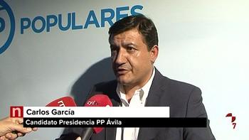Carlos García González se impone en las Primarias del PP de Ávila