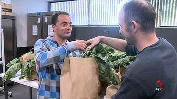 Fundación Intras te lleva las verduras 'De la huerta a tu casa'