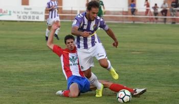 El Real Valladolid se estrena con goleada