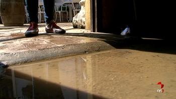 La lluvia y el granizo inundan parte de Villarramiel y Cevico de la Torre en Palencia