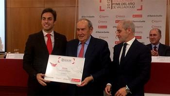 Bodegas Protos recibe el premio Pyme del año 217