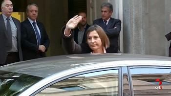 Forcadell paga 150.000 euros de fianza recaudados por ANC y Òmnium para salir de prisión