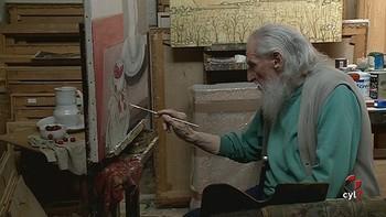 Cuadrado Lomas, pintor en activo y 'cabeza de rat�n'