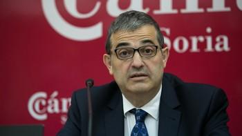 Alberto Santamaría defiende la buena salud económica de la Cámara de Comercio de Soria, con cuentas saneadas y deuda cero