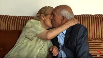 75 años casados, el secreto es quererse y no discutir