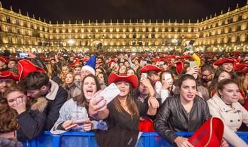 Los servicios de Urgencias de Salamanca atienden a 41 jóvenes durante la Nochevieja Universitaria