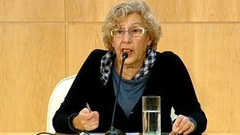 Carmena dice que es 'pronto' para hablar del cese de Mayer
