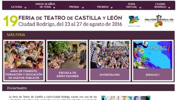 'Divierteatro' apuesta por el arte contempor�neo en la Feria de Teatro de Castilla y Le�n