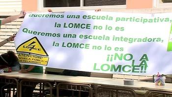 Los sindicatos de la enseñanza suspenden la política educativa en Castilla y León