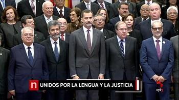 Felipe VI preside la presentación del nuevo Diccionario Panhispánico del Español Jurídico