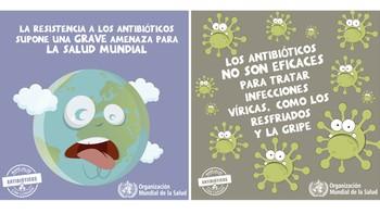 Antibióticos, los justos