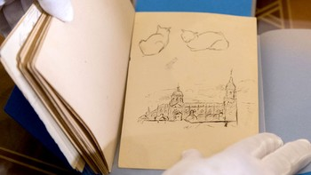 La Casa Museo Unamuno añade 66 dibujos del escritor y rector más prestigioso de la Usal