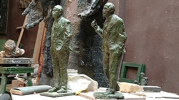 Del Bosque tendr� una estatua en Salamanca y ya est�n listos los primeros bocetos