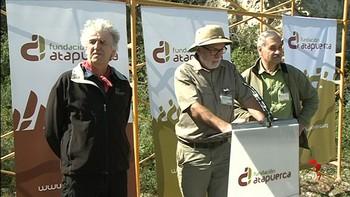 Mina Winstein-Evron y la Guardia Civil de Burgos, premios Evolución de la Fundación Atapuerca