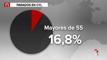 El número de desempleados mayores de 55 sigue aumentando en Castilla y León