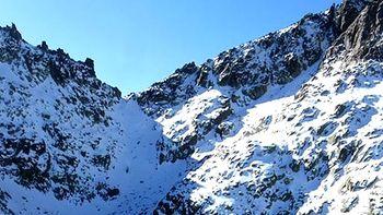Rescatado un monta�ero herido en el Pico Almanzor, en la Sierra de Gredos