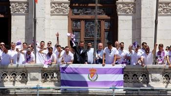 La ciudad y la provincia rinden homenaje al Real Valladolid en su retorno a la Primera División