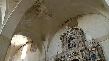 La iglesia de Pedrosa del Rey declarada Bien de Inter�s Cultural se acerca al estado de ruina