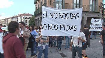 Vecinos de Torredondo protestan por el 'abandono' que reciben por parte del ayuntamiento