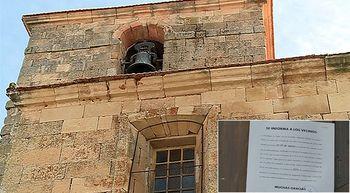 Pol�mica en La Vell�s, Salamanca, por el sonido del reloj del campanario