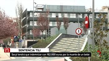 El TSJ condena a Sacyl a indemnizar con 162.000 euros a un matrimonio por la muerte de su hija durante el parto