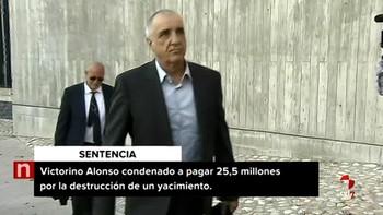 Confirmada la condena de dos años de cárcel y la multa de 25,5 millones al empresario minero Victorino Alonso por la destrucción de la cueva de Chaves (Huesca)