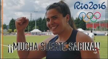 ¡Suerte Sabina!