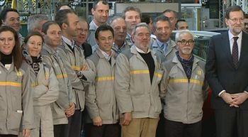 Rajoy desea que el binomio Renault-Espa�a sea 'para siempre'