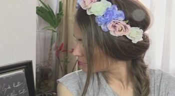 Flores y trenzas para esta primavera