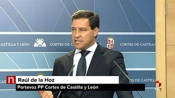 De la Hoz defiende 'la legitimidad' de Manuel García para presidir la Comisión de Fomento de las Cortes