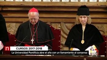 Blázquez reivindica la figura pontificia en los 800 años de historia de la Universidad de Salamanca