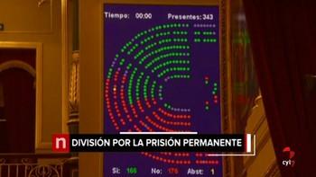 La derogación de la prisión permanente sigue su curso en el Congreso tras rechazarse las enmiendas de PP y Cs