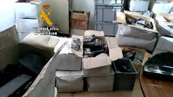 Detenido por robar durante años material de la empresa de automoción en la que trabajaba en Salamanca