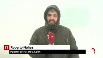 La primavera llega con ventiscas a León