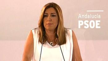 Susana D�az rechaza 'bandos' en el PSOE y un congreso expres 'por intereses personales'