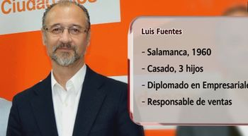 El rostro de Ciudadanos en Castilla y Le�n es Luis Fuentes