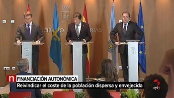 Castilla y León, Asturias, Galicia y Aragón buscan un frente común en financiación autonómica y el reto demográfico